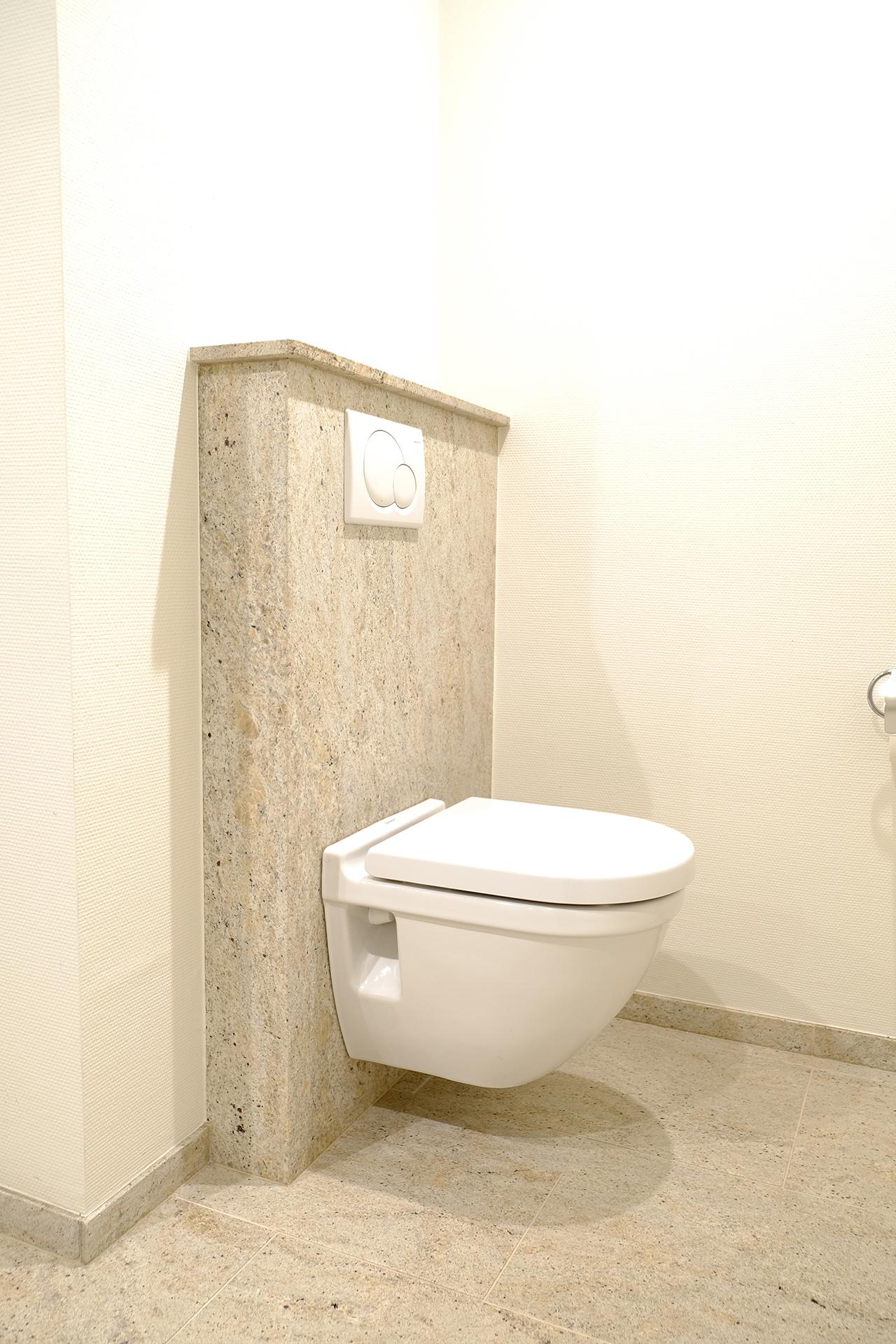 Die pflegeleichte Toilettenarmatur bringt viele Vorteile
