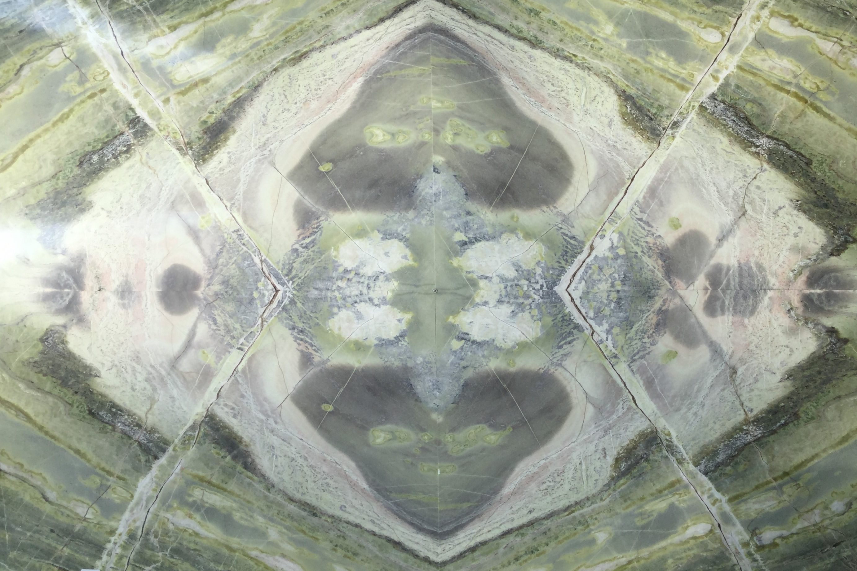 Struktur Schnitt aus Irish Green