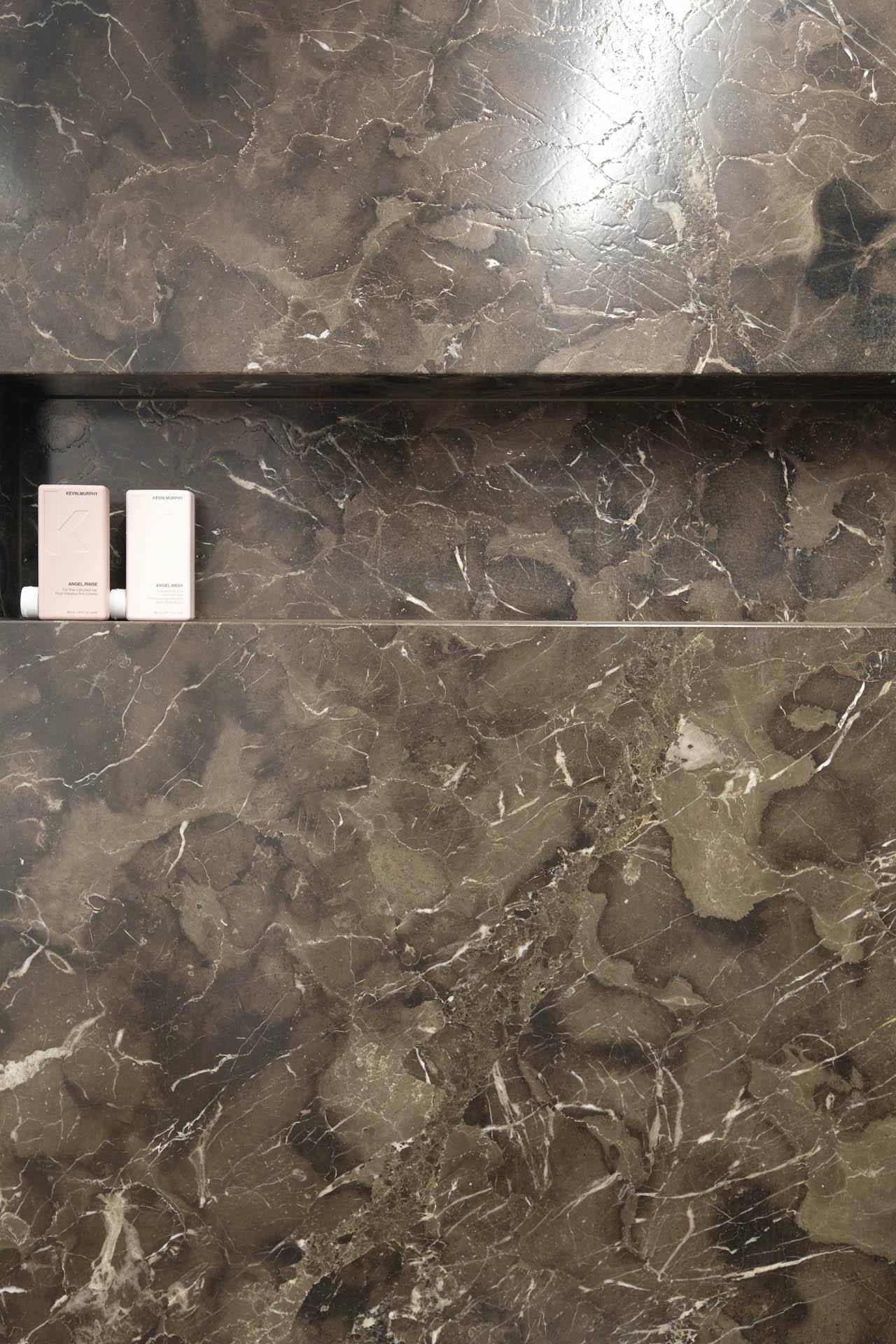 Duschnische Marmor - Duschablage aus Naturstein