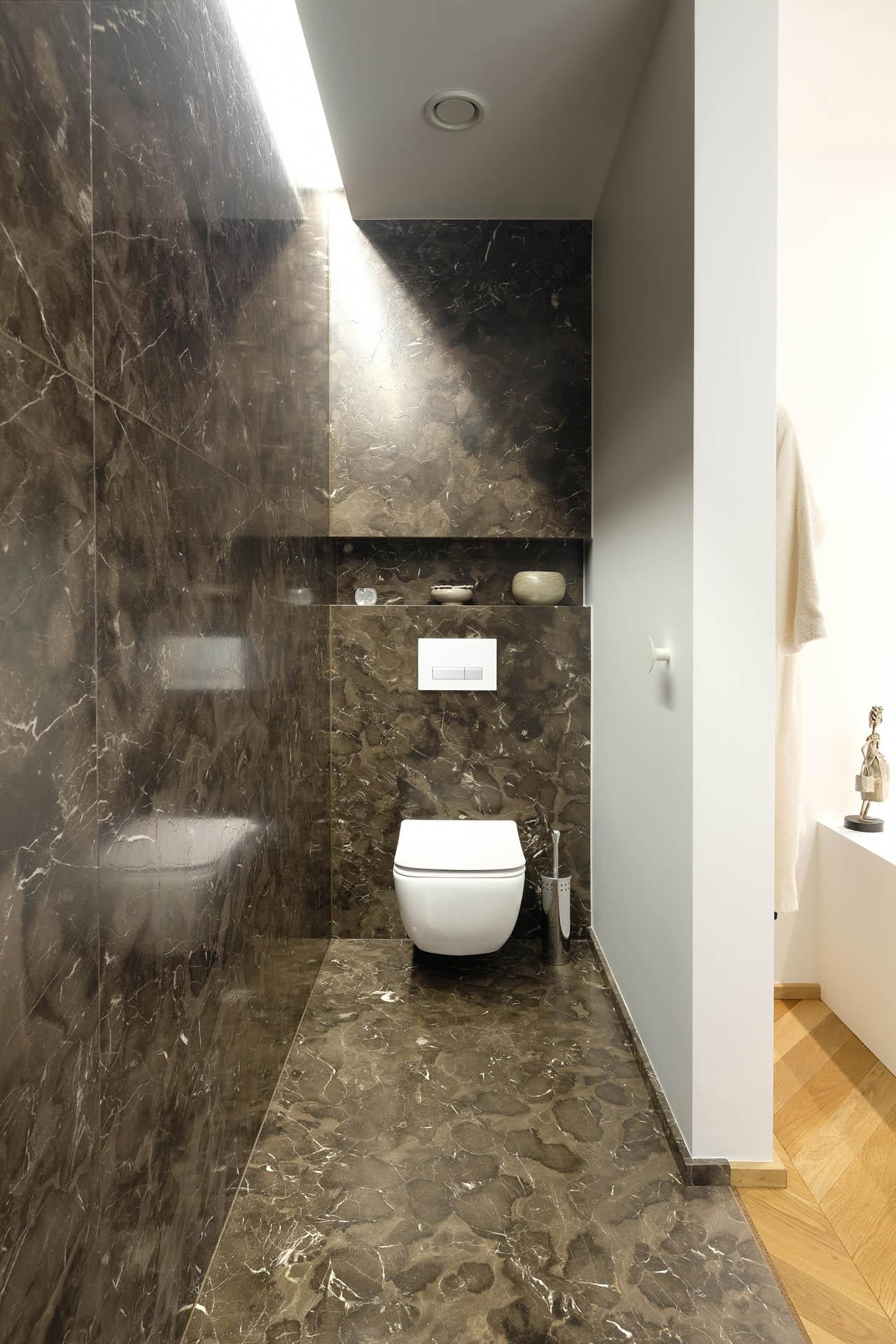 Designbad ind Mystic Brown Marmor